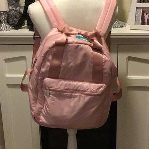 Girls Pink Mad Love Backpack Large
